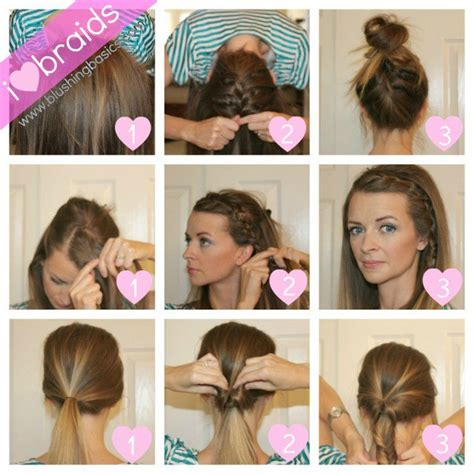 a quick and easy hairstyle i can fo myself 14 pretty hairstyle tutorials for 2015 styles weekly