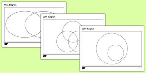 blank venn diagram ks2 venn diagram templates pack venn diagrams venn venn