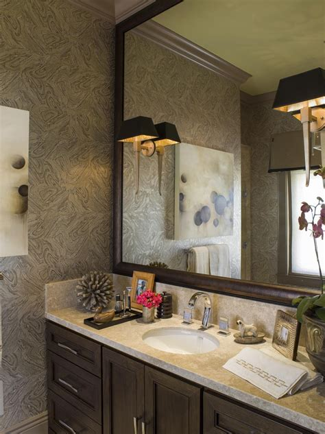 Bathroom With Wallpaper Ideas | bathroom wallpaper ideas bathroom wallpaper designs