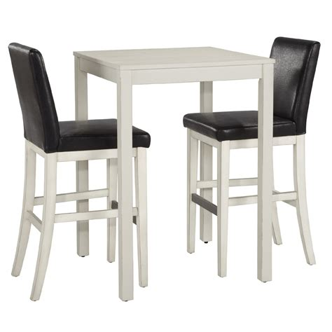 White Bistro Table Home Styles Nantucket White Bistro Table Set 5022 358