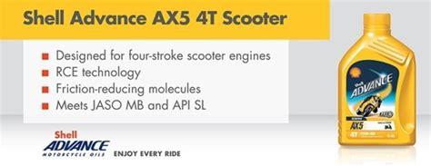 Oli Sheel Ax5 800cc 15w40 shell memperkenalkan shell advance ax5 pelumas mesin yang