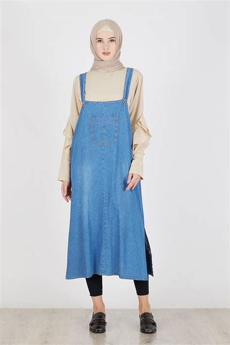 Overall Skirt Light Blue by Sell Overall Denim Skirt Light Blue Dresses And