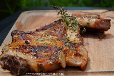 cuisiner une cote de veau cuire une cote de veau a la poele