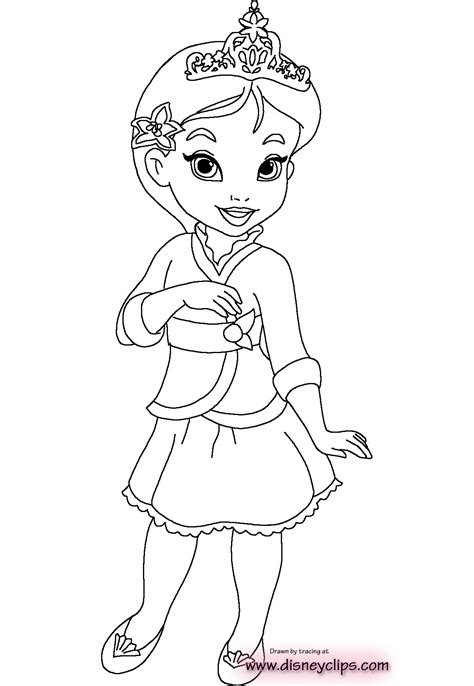 Childrens Coloring Pages Disney by Baby Disney Princess Coloring Pages Coloring Pages For