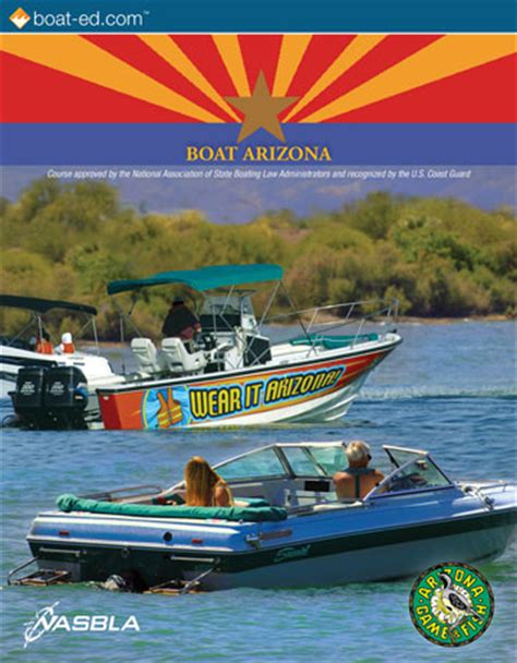 boating license az arizona game and fish department approved boating classes