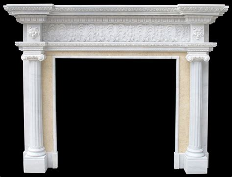 marble fireplace cast mantels limestone