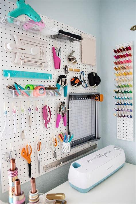 cricut craft room design tool 25 best ideas about pegboard craft room on