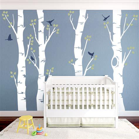 birch tree wall stickers birch tree wall mural peenmedia