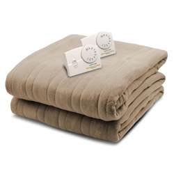 Biddeford Comfort Knit Heated Blanket by Biddeford Blankets 1003 Series Comfort Knit Heated 84 In