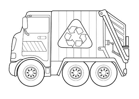 Simple Dump Truck Coloring Pages by Dump Truck Pictures For Activity Shelter