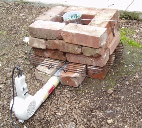 dryer and brick aluminum forge