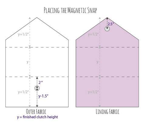 Sewing Pattern Envelope Template | diy vintage wedding dress envelope clutch tutorial diy