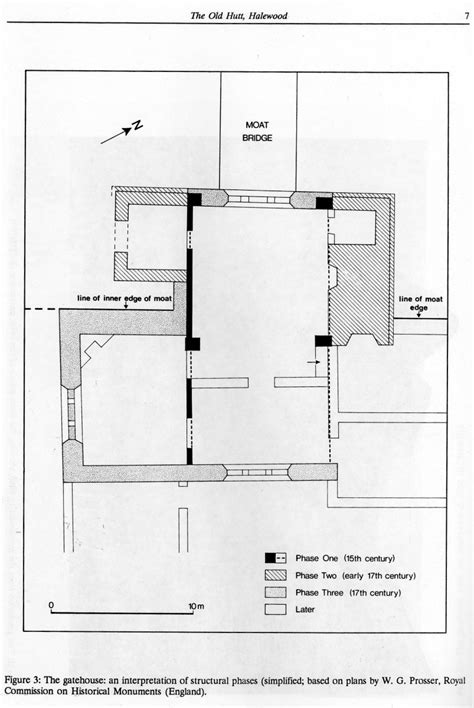 gate house plan halewood parish history website history old hutt hall