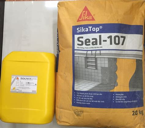 Sika Top 107 2 Komponen 25 Kg sikatop seal 107 vữa chống thấm v 224 bảo vệ đ 224 n hồi