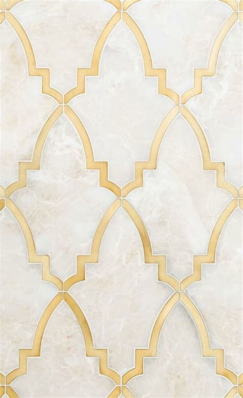 10 LOOKS TO LOVE :: GOLD GROUT & INSETS   Tile and Grout