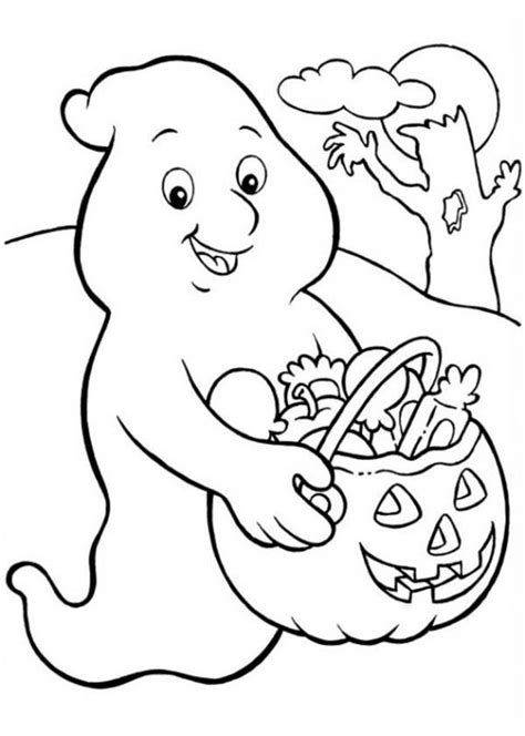 halloween ghost coloring pages printables 229 best images about coloring pages on pinterest