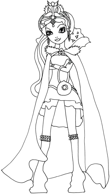 ever after monster high coloring pages ever after high coloring pages raven queen ever after high