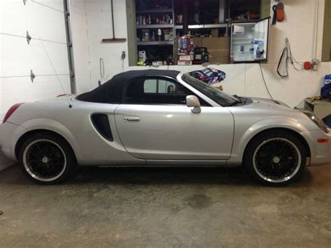 how cars run 2002 toyota mr2 navigation system sell used 2002 toyota mr2 spider in sutton west virginia united states