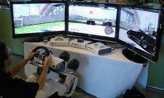 Xbox One Steering Wheel Setup Feature Two Gaming Setups That Literally Put You In The