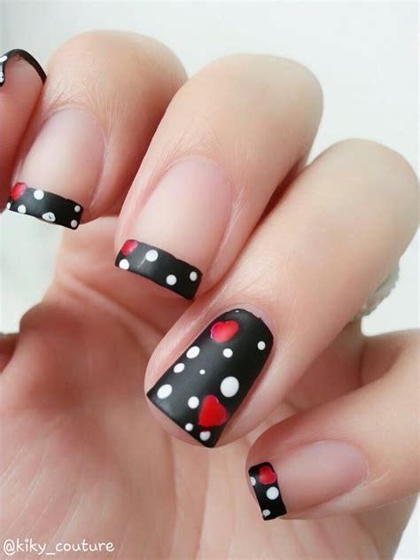 imagenes de uñas pintadas de rojo y negro dise 241 os para san valent 237 n parte 2 el rinc 211 n de los