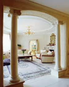 Pillar Designs For Home Interiors by 35 Modern Interior Design Ideas Incorporating Columns Into