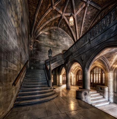 gothic interior beautiful gothic castle and classical architecture on