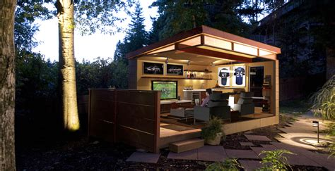 backyard man cave plans man cave why every guy or gal needs one westcoast