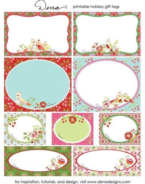 Etiketten Drucken Download by Etiketten Zum Ausdrucken Free Holiday Gift Tag Printables