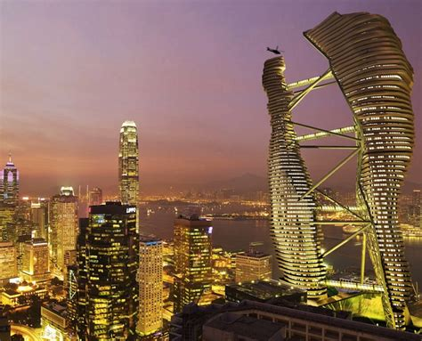 Where Can I Buy A Tiny House are these incredible rice paddy topped hong kong towers