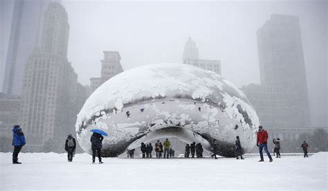 Records In Illinois Record Setting Snow In Boston And Chicago Is A Winter