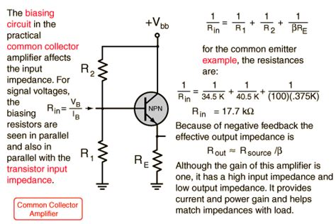what is emitter resistor help me calculate output impedance electronics forums