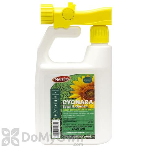 cyonara rts cyonara lawn yard and garden insect spray