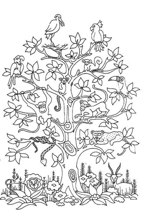 hard christmas tree coloring page coloring pages free coloring page 194 171 coloring adult