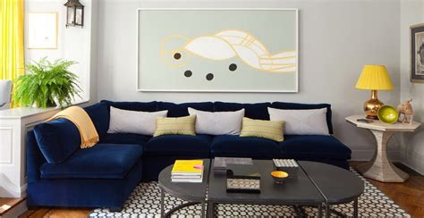 Living Room Settee by Living Room Blue Sofa Cool Your Design With Blue