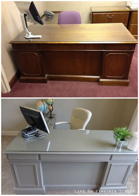 desk painting ideas my office desk makeover is complete life on virginia street