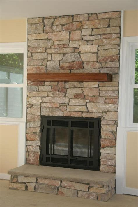 awesome stacked stone fireplace cost on vwvortex com stone