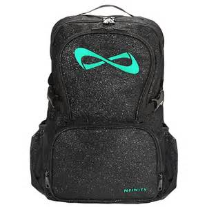 Infinity Cheer Backpack Nfinity Black Sparkle Backpack Cheerzone