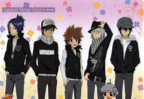 Jaket Katekyo Hitman Reborn katekyo hitman reborn amano image 611288 zerochan anime image board
