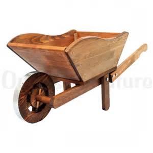 brouette de jardin en bois trait 233 outils et nature fr