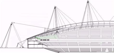 net section city of manchester stadium etihad stadium 48 000 seats