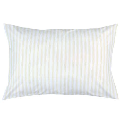 pillow ticking bedding pale yellow ticking stripe pillow case carousel designs