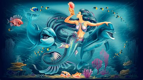 and dolphin mermaid and dolphins wallpapers and images wallpapers pictures photos