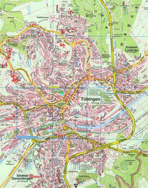 tubingen germany map tubingen