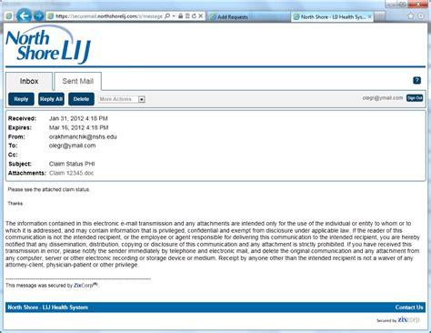 northwell health secure email user awareness program
