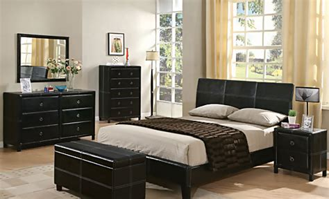 bycast dark brown bedroom set bedroom sets