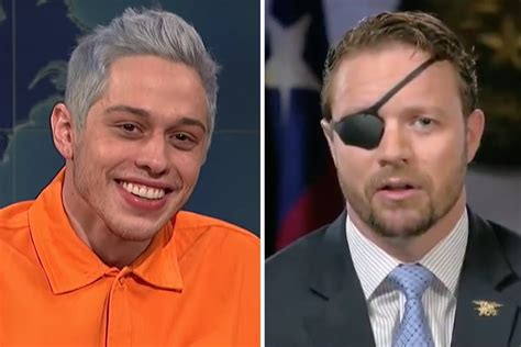 pete davidson youtube dan crenshaw conservatives blast snl s pete davidson for mocking dan
