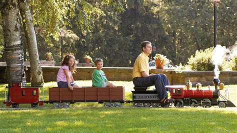 backyard trains you can ride for sale you can finally buy yourself the tiny rideable you always wanted