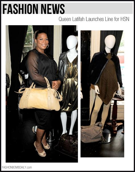Latifah Launches A Clothing Line by Latifah Launching Clothing Line With Hsn Freddyo