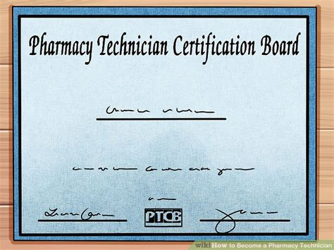 Pharmacy Board Certification by How To Become A Pharmacy Technician 8 Steps With Pictures