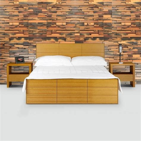 wall tiles for bedroom new bedroom wall reclaimed mosaic wood tiles modern